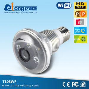 Network Camera Wireless IP Camera WiFi IP Camera Night Vision Bulb Light WiFi IP Camera 720p Vs 1080P