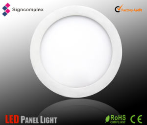 4inch 8W China Wholesale Hot Sale Round LED Panel with CE RoHS ERP pictures & photos