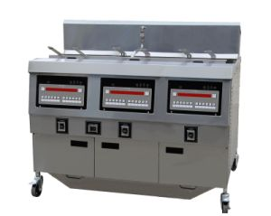 Gas Open Fryer Ofg-323 (Three Tank) pictures & photos