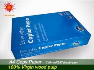 100% Wood Pulp A4 Copy Paper pictures & photos