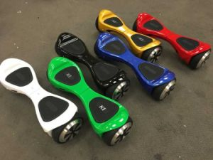 6.5/8.5 Inch Electronic Scooter K1 with Dual Bluetooth Speaker pictures & photos