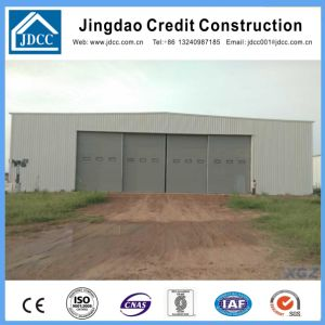 Glasswool Panels Steel Structure Aircraft Hangar pictures & photos