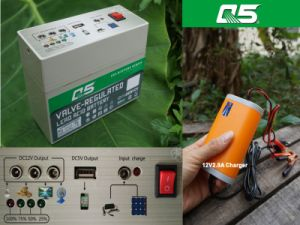 12V7AH The Battery Goes with Inverter Use (multipurpose)outdoor power supply plan of 12V low voltage battery tester battery tender solar battery charger pictures & photos