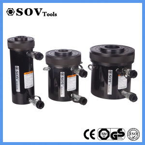 Compact Hydraulic Hollow Plunger Double Acting Cylinder (SV22Y30180) pictures & photos