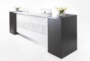 Modern Beauty Salon Furniture Reception Desk Office Counter Design (SZ-RTB002) pictures & photos