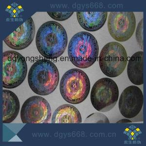 Custom Design Rainbow Effect Sticker pictures & photos