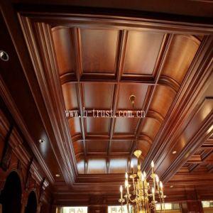 PVC Decorative Film Foil for Vacuum Membrane Press on Cabinet/Door etc. Htd018 pictures & photos