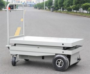 Electric Lifting Trolley Cart with One Cylinder (HG-1160)
