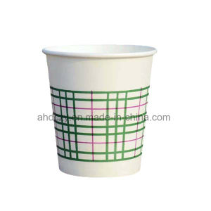 No Water Leakage 4oz Printed Coffee Cups Disposable pictures & photos
