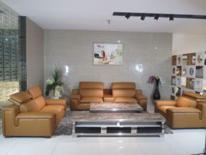New Design (with Storage table) Genuine Leather Sofa (SBL-9191) pictures & photos