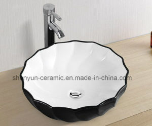 Ceramic Bathroom Basin Color Basin (MG-0066) pictures & photos
