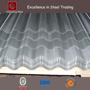 Galvanized Perforated Corrugated Metal Panel with 10mm Hole pictures & photos