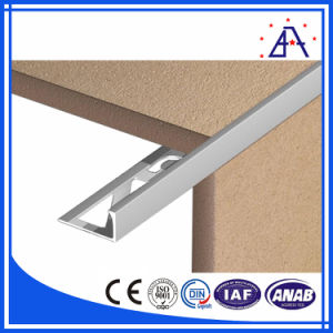 Reliable Supplier Good Quality White Anodized Aluminium Tile Trim pictures & photos