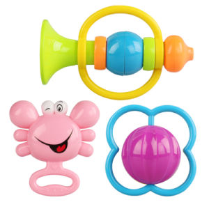 ABS Plastic Shantou Toys Baby Rattle for Promotion pictures & photos