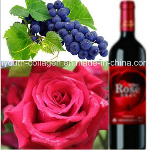 Top EU Wild Rose Cabernet Sauvignon Wine, Rich Anthocyanin, Antiaging, Blood Tonic, Prevention Ischemia Apoplexy pictures & photos