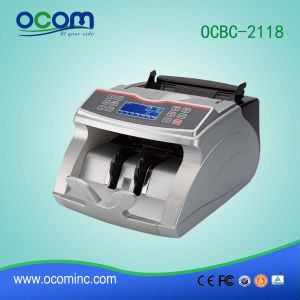 Shop Manager Currency Banknote Cash Counter Machine with Money Detector pictures & photos