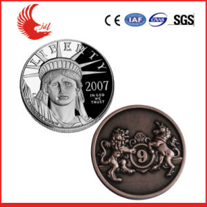 Cheap Metal Custom Design Qutique Gold Coin pictures & photos