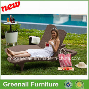 New Design Outdoor Rattan Leisure Sun Bed pictures & photos