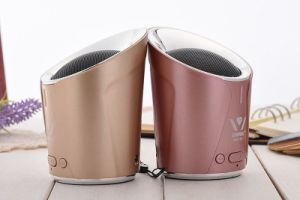New Wireless Bluetooth Speaker Deep Bass Portable Audio Player Aluminum Speaker for iPhone iPad Samsung Cellphones pictures & photos