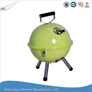 Camping Portable Pellet Grill Charcoal BBQ Grill