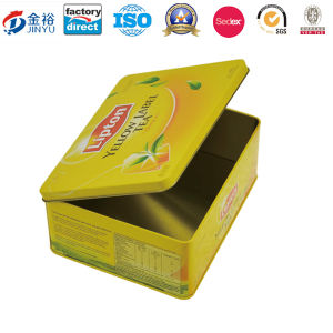 Rectangular Tea Tin Box for Tea Bah Jy-Wd-2015112738 pictures & photos