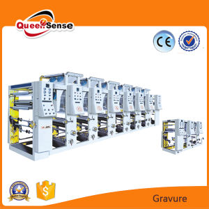 Electronic Plastic Film Gravure Printing Machine pictures & photos