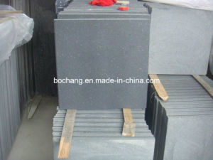 Honed Hainan Dark Black Basalt Tile for Wall Tile pictures & photos
