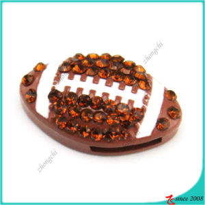 Hot Selling Football Slide Charms Bracelet Charms pictures & photos
