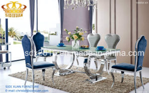 Dining Table / Modern Chair / Home Furniture / Restaurant Chair / Living Room Furniture / Glass Table / Honme Furniture / Hotel Chair Sj890+Cy082/Cy065 pictures & photos