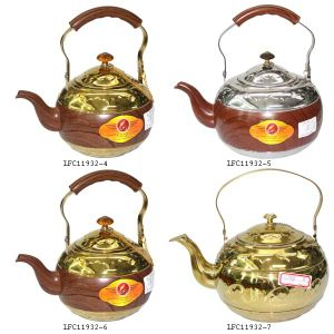 1.8L Capacity Stainless Steel Non-Magnetic Teapot Kettle pictures & photos