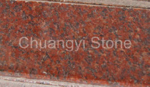 India Red Granite for Floor/Wall/Stair/Step/Paver/Kerbstone/Landscape/Palisade/Countertop/Tombstone