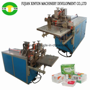 Semi Automatic Facial Tissue Packing Machine Price Face Paper Packaging Machine pictures & photos