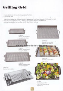 Square Handle BBQ Grilling Grid pictures & photos