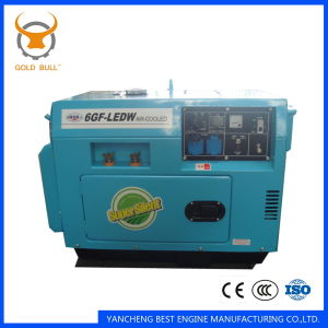 GB6500dgs Air-Cooled Power silent Diesel Generator for Industrial Use