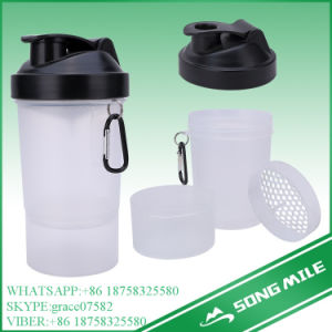 600ml Protein Gym Shaker, Custom Logo Sport Activity Shaker Bottle pictures & photos