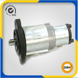 High Pressure Double Pump Hydraulic Gear Oil Pump for Tractor, Forklift pictures & photos