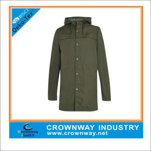 Lightweight Khaki Parka Jacket for Men pictures & photos