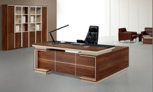 Wood Office Furniture MFC Modern Left/Right Return Manager Desk 2.4m 2.2m 2m 1.8m Office Table