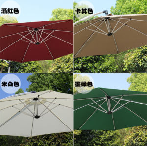 Custom Angle Garden Outdoor Hanging Roma Large Umbrella pictures & photos