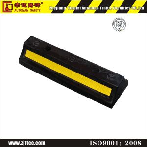 Reflective Rubber Wheel Safety Stops (CC-D03) pictures & photos