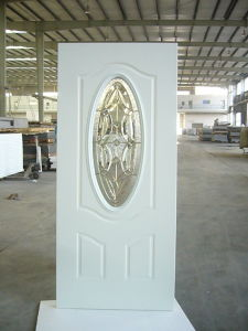 Fangda Smooth Finished Bathroom Steel Glass Door pictures & photos