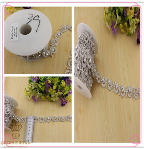 Long Section of The Wedding Dress Rhinestone Belt, Diamond Chain