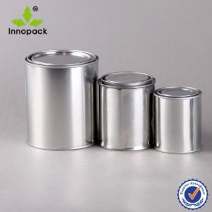 Round 100ml Metal Tin Can pictures & photos