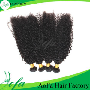 Remy Hair Pieces Loose Curly 100% Virgin Human Hair Extension pictures & photos