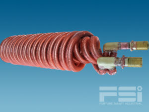 Coiling Copper Finned Tube Heat Exchanger 610 pictures & photos