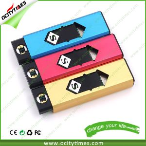 Factory Direct Sell No Flame No Gas USB Lighter Rechargeable Cigarette Lighter USB with Memory pictures & photos