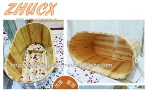 Fashion Style Wooden Bathtub High Quality Wooden Bathtub pictures & photos