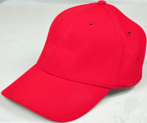 New Design Sport Red Polyester Golf Caps pictures & photos
