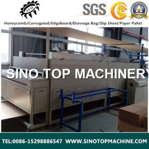 Full-Automatic Honeycomb Panel Lamination Machine pictures & photos