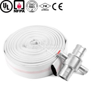 4 Inch Wear-Resisting PVC Lined Fire Hose for Farm Irrigation pictures & photos